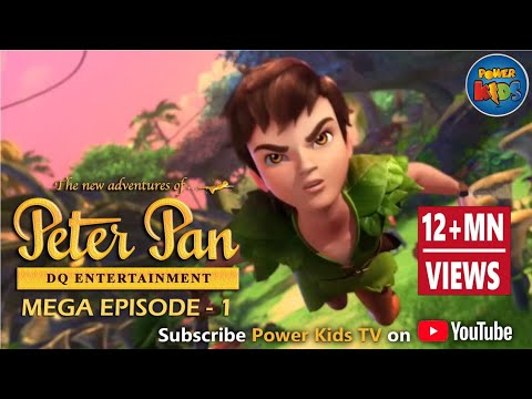 Peter Pan ᴴᴰ [Latest Version] - Mega Episode [1] - Animated Cartoon Show
