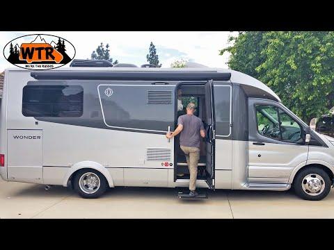 25' Small Class C RV Walk-Through | Leisure Travel Vans Wonder RTB