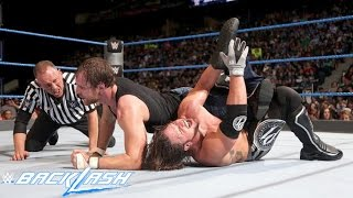 WWE Backlash Dean Ambrose vs AJ Styles Highlights HD