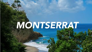 My cousin and I visited our grandparents on an island called Montserrat. It's located in the West Indie islands of the Caribbean.