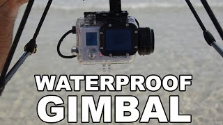 Splash Drone Beach Test - Gimbal, payload release, speed and waves