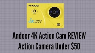 """Andoer 4K Action Cam REVIEW - Action Camera Under $50Andoer official site: www.andoer.comAmazon link for this product: https://goo.gl/TuH5UkCode: FORBRIAN   20% OFF for this 4K action camera.Another review of an action cam by Andoer. So is it any good? check out some of the video footage in the video and you can make up your own mind whether it's good or not. Specifications:Color: BlackDisplay (LCD): 2.0"""" LCD Screen Image Sensor: Adopt for Sony IMX179Lens: 170° Fish-eye Lens 6GDSP: Allwinner V3Video Resolution: 4K(30fps), 2K(30fps), 1080P(60fps/30fps), 720P(120fps/60fps/30fps)Photo Resolution: 16M, 12M, 8M, 5M, 2MVideo Format: MP4Image Format: JPGLoop Recording: 2Min / 3Min / 5Min / OffTime Lapse Record: 0.5s / 1s / 2s / 5s / 10s / 30s / 1MinSlow Motion: 1080P(60fps), 720P(120fps)Video Compression Format: H.264Zoom: 4X Digital ZoomConnections: USB 2.0, High-Definition Multimedia InterfaceShooting Mode: Single Shot / Self-timer(3s / 5s / 10s / 20s) / Auto(3s / 10s / 15s / 20s / 30s) / Drama Shot(3P/S / 5P/S / 10P/S / Off)Anti-shake: On / OffWhite Balance: Auto, Sunny, Cloudy, Incandescent Light, Fluorescent LightStorage: Support for Memory Card Class10 Up to 64GB(not included)Auto Power Off: 5Min / 10MinBattery: 900mAhItem Size: 5.7 * 3.9 * 2.7cm / 2.2 * 1.5 * 1.1inItem Weight: 58g / 2.1ozCheck out our forumhttp://www.briteccomputers.co.uk/forum"""