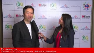 Mr. James Law, Chairman & CEO & Cybertect – James Law Cybertecture talks about Smart Cities and various projects he is working on in India – At Smart Green Summit & Awards, 2016
