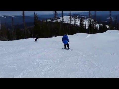 Snowboarding 2016 mt spokane washington