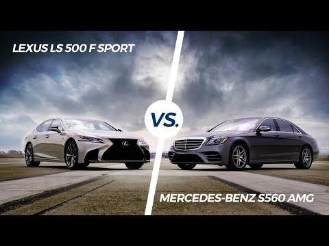 2018 Lexus LS 500 F Sport vs. 2018 Mercedes-Benz S560 AMG - AMCI Testing