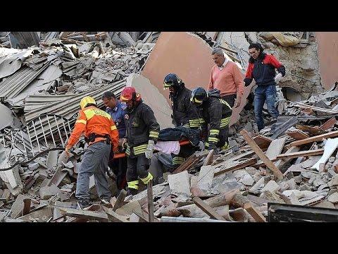 Η απεσταλένη του euronews Ρακέλ Γκαρσία Αλβάρες στις πληγείσες περιοχές