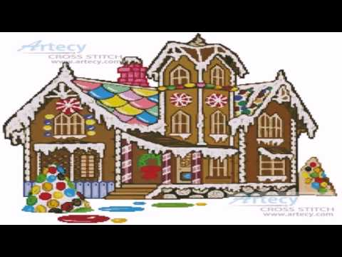 Victorian Style Gingerbread House Template