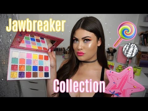 Jeffree Star Cosmetics JAWBREAKER COLLECTION 🍭Review & Swatches!