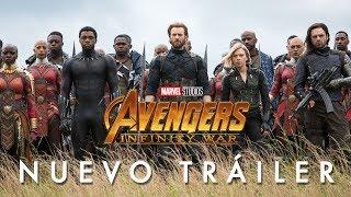 Vengadores Infinity War de Marvel  Nuevo  Tráiler Oficial en español  HD