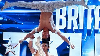 Video OMG! Watch The Giang Brothers' UNBELIEVABLE show of strength! | Auditions | BGT 2018 MP3, 3GP, MP4, WEBM, AVI, FLV Agustus 2018