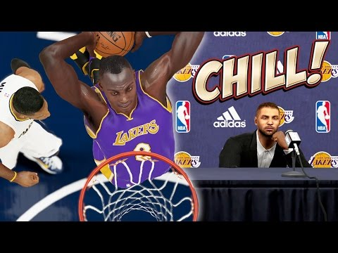 center - NBA 2K15 Next Gen MyGM - Facing Paul George and His Pacers! ▻ Previous Ep.: http://goo.gl/HCWMNj | Next Ep.: Coming Soon ! ▻ All MyGM Episodes In One Place: http://nyke.co/LakersGM...