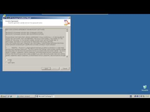 Installing Microsoft Exchange Server 2003 - Windows Server 2003 R2