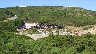 Vila Do Bispo Portugal  city photo : Praia Ingrina Vila do Bispo Algarve Portugal (HD)
