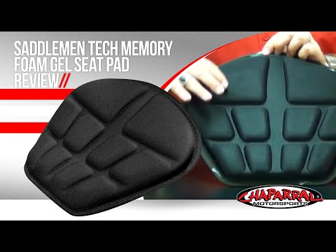 Saddlemen Tech Memory Foam Gel Seat Pad Review