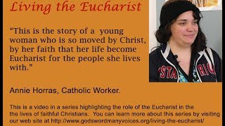 Eucharist for the People She Serves