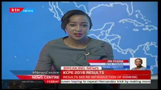 BREAKING NEWS: CS Matiang'i releases 2016 KCPE Results