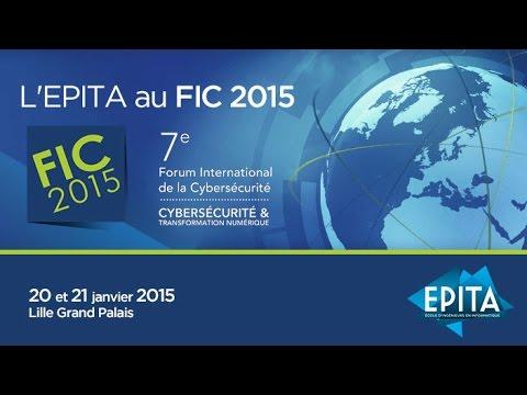 L'EPITA et la formation SecureSphere vous donnent rendez-vous au Forum International de la Cybersécurité, les 25 et 26 janvier 2016 à Lille