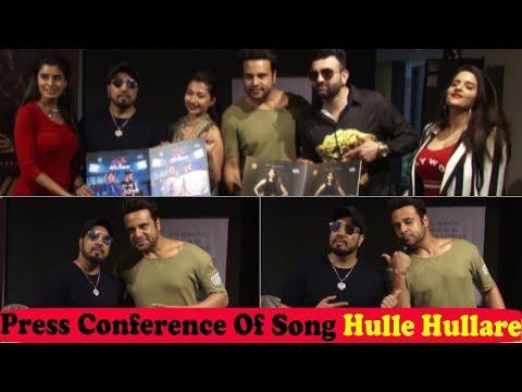 Mika Singh and Krishna Abhishek at Success Press Conference Of New Song Hulle Hullare
