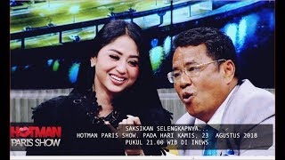 Video WUIH!! Kuat Goyang, Dewi Persik Bongkar Urusan Ranjang di Hotman Paris Show 23 Agustus 2018 MP3, 3GP, MP4, WEBM, AVI, FLV November 2018