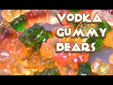 Vodka Soaked Gummy Bears Recipe - theFNDC.com