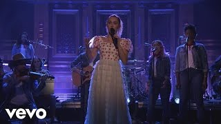 Miley Cyrus - Inspired (The Tonight Show Starring Jimmy Fallon)