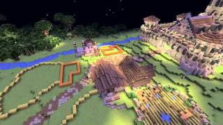 Minecraft Timelapse: Wayfair Castle