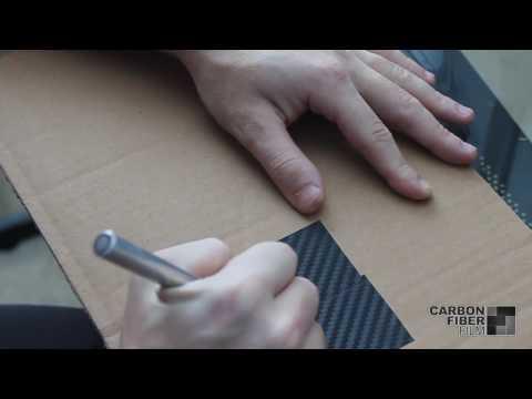 How to splice and extend 3M carbon fiber DI-NOC vinyl