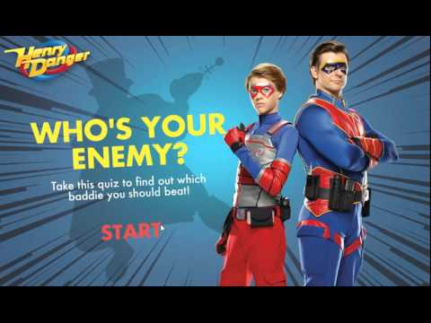 Henry Danger - Who's your enemy? - Nickelodeon Game for Kids!