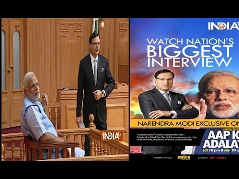 Aap - Rajat Sharma's experience with Narendra Modi in Aap Ki Adalat For more content go to http://http://www.indiatvnews.com/video/ Follow us on facebook at https:...
