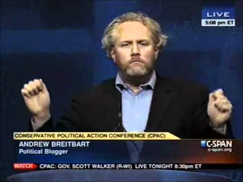 Breitbart - Conservative blogger Andrew Breitbart claims to have film of US President Barack Obama during his young, radical college years. He tells the CPAC audience th...