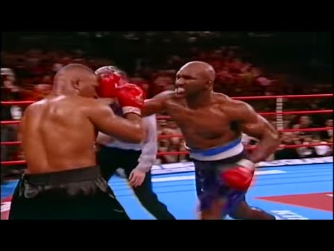 """iron"" Mike Tyson Vs. Evander ""the Real Deal"" Holyfield - 1996 (highlights)"