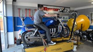 1. Triumph Rocket III 2006 Special edition on Dyno