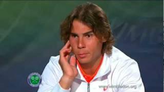 Download Video Rafael Nadal Wimbledon Presser - Best Moments MP3 3GP MP4