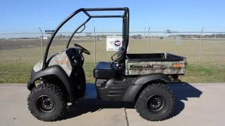 10. $8,499:  2016 Kawasaki Mule 610 XC Camo Overview and Review