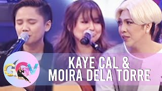 Video GGV: Impromptu 'hugot' songs with Kaye Cal and Moira dela Torre MP3, 3GP, MP4, WEBM, AVI, FLV Januari 2019