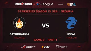 iDeal vs SatuDuaTiga, game 2