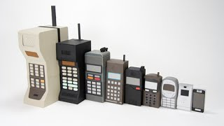 Evolution of the Cell Phone (1973-2015)