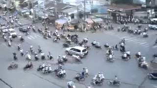 take a look trafic in Cambodia