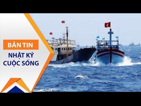 Sốc: Tàu Trung Quốc lại đâm tàu cá Việt Nam | VTC1 - Thời lượng: 2 phút, 1 giây.