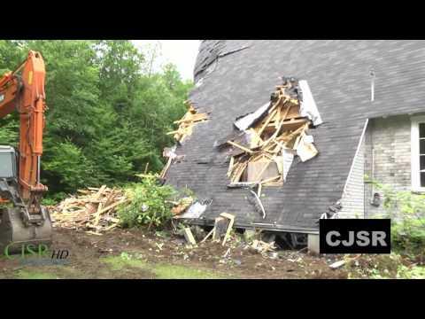 La chapelle du lac Sept-Îles a été démolie