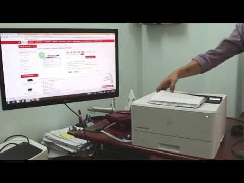 Kiểm chứng khả năng in hai mặt liên tiếp với máy in HP M402d