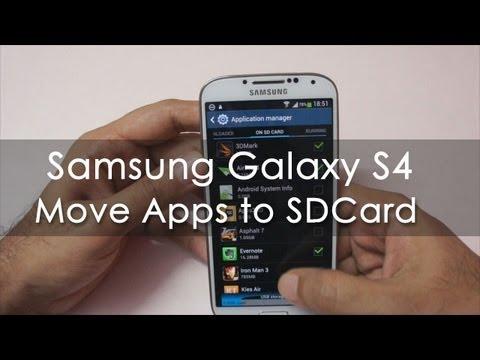 Descargar Samsung Galaxy S4 Move Apps to the SDCard – Geekyranjit para Celular  #Android