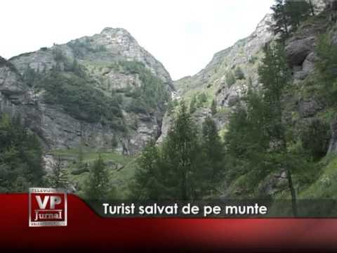 Turist salvat de pe munte