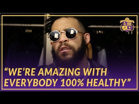 Video: Lakers Post Game: JaVale Talks About How The Team Would Look if Everyone Stayed Healthy