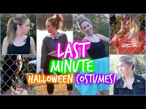 Minute - Get your own LIMITED EDITION EG T-Shirt! http://vid.io/xqhJ **SHIPPING IS INTERNATIONAL!** DIY Easy Last Minute Halloween Costumes! Click THUMBS UP if you LOVE HALLOWEEN!