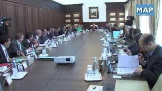 انعقاد مجلس الحكومة  الخميس 27 مارس 2014