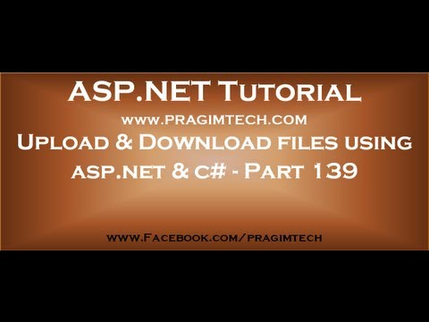 how to provide download link in asp.net