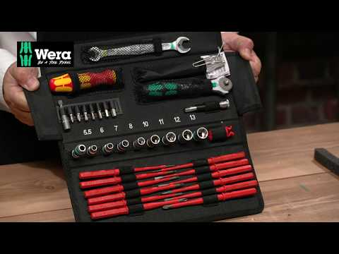 Wera KK W1 Maintenance Kit, 35 Piece Video