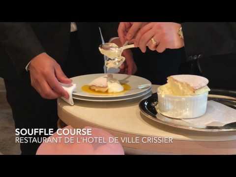 Souffle Course at the Restaurant De L'Hotel De Ville Crissier