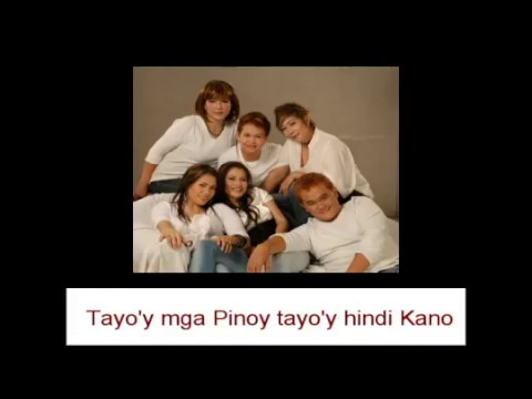 Aegis Tayo'y Mga Pinoy With Lyrics